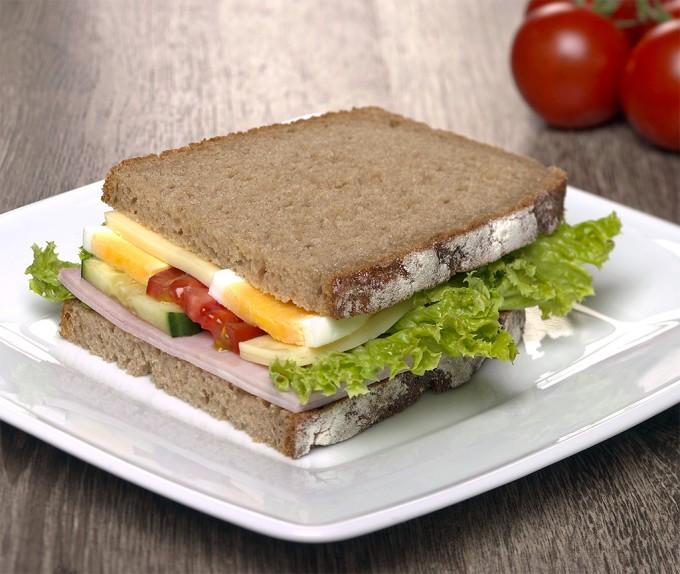 Kaese-Schinken-Brot
